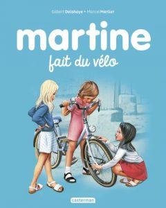 Martine fait du vélo