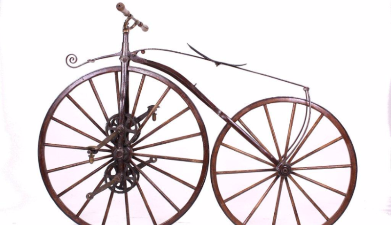 Draisiennes du musée vélo moto de Domazan